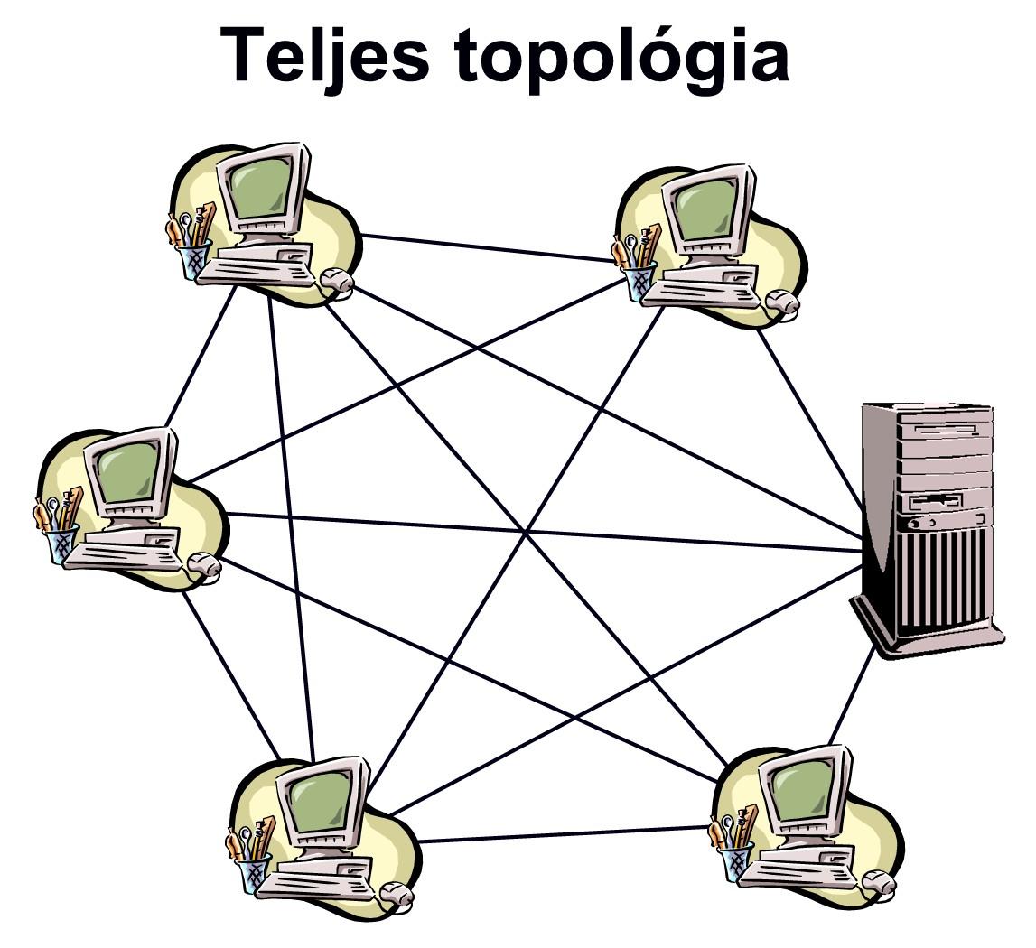 teljes topológia